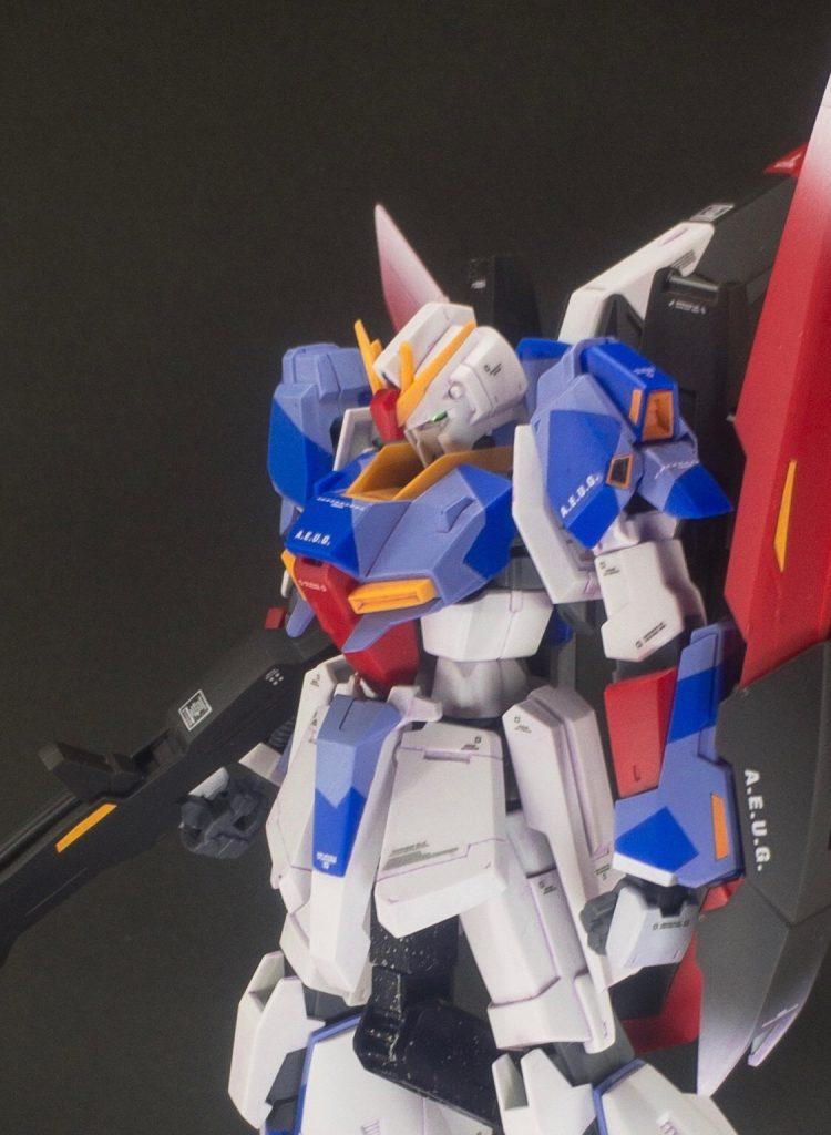 成形色仕上げ:MSZ-006  ZETA-GUNDAM