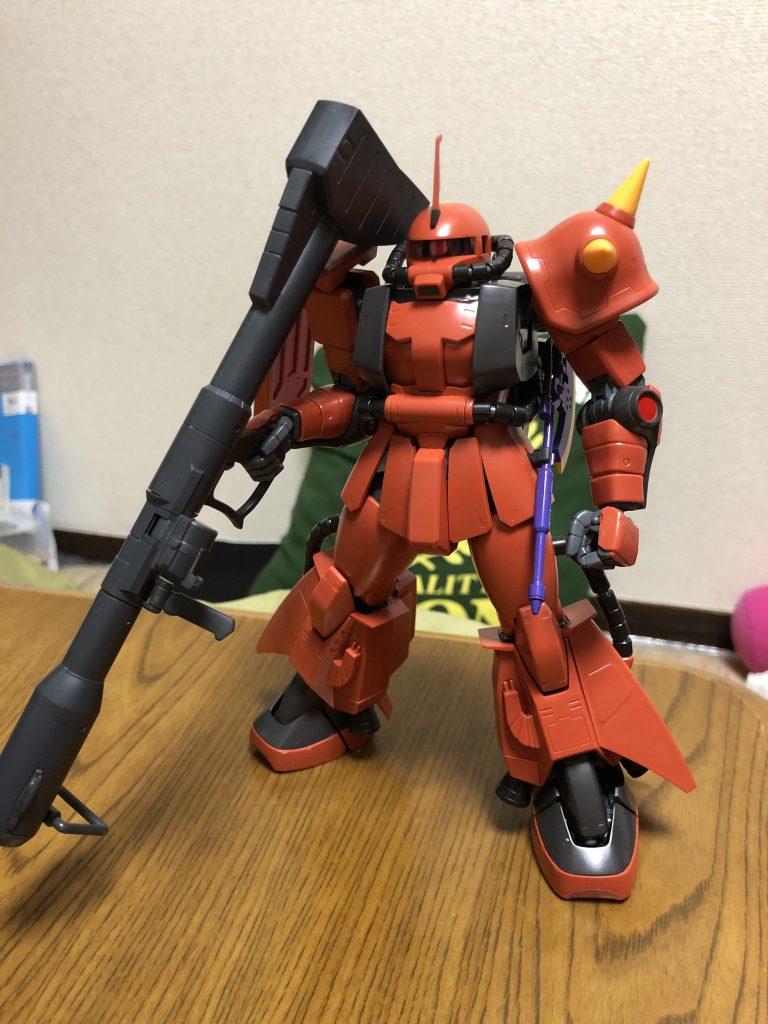 MGジョニーライデン専用高機動型ザクⅡver2.0