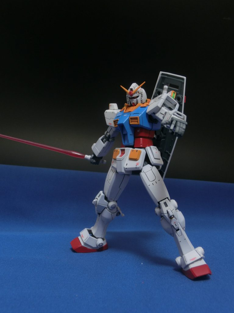 HG 1/144 RX-78-02 ガンダム 後期型(GUNDAM THE ORIGIN版)