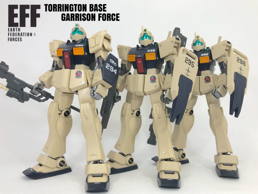 UC版ジムⅡ トリントン基地守備隊