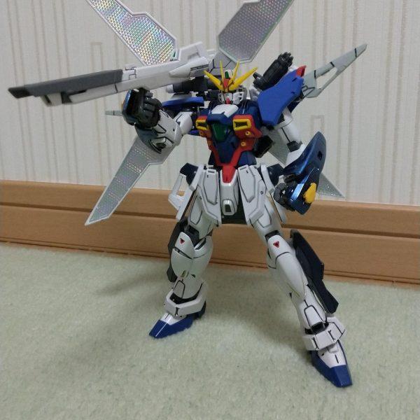 MGガンダムアルテミス改(サテライトキャノン発射形態)