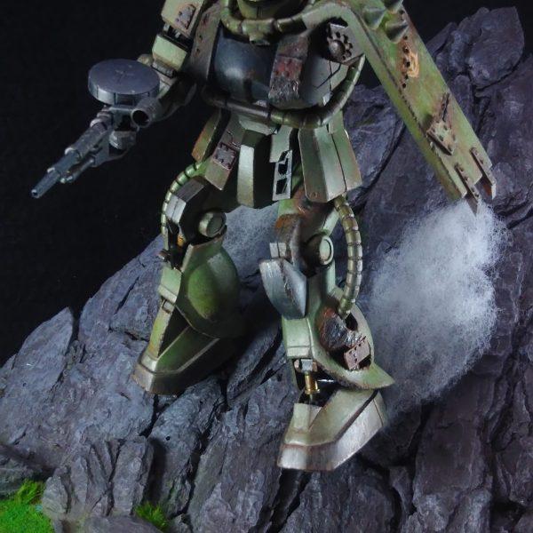 隻腕の戦士 ザクⅡ