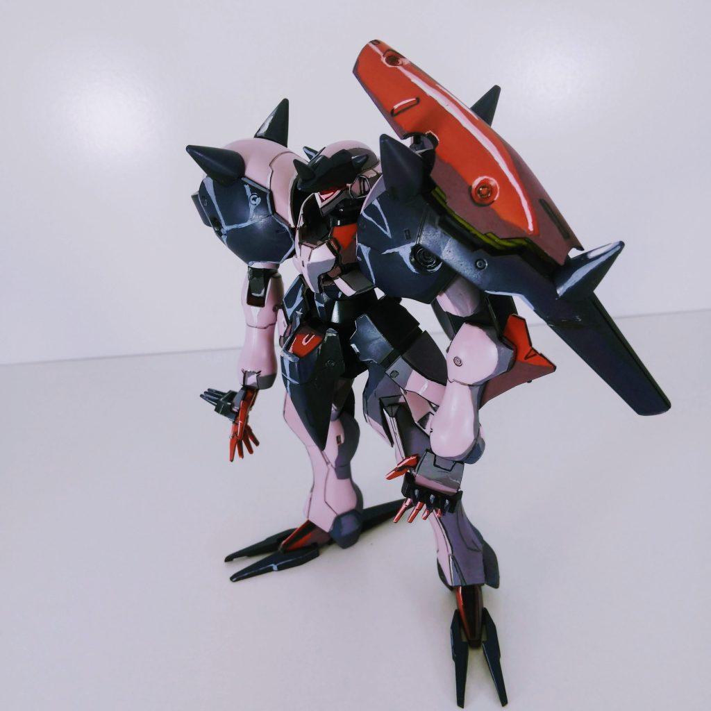 【イラスト風模型】HG ガラッゾ