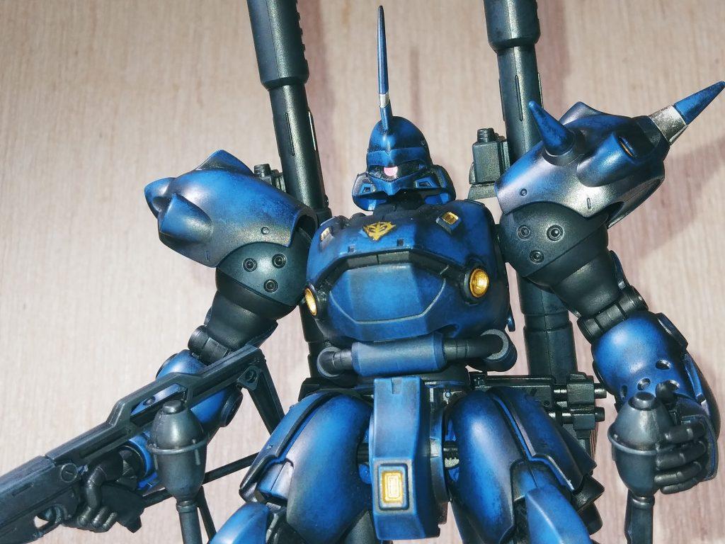 HG ケンプファー 成型色は魅惑の青