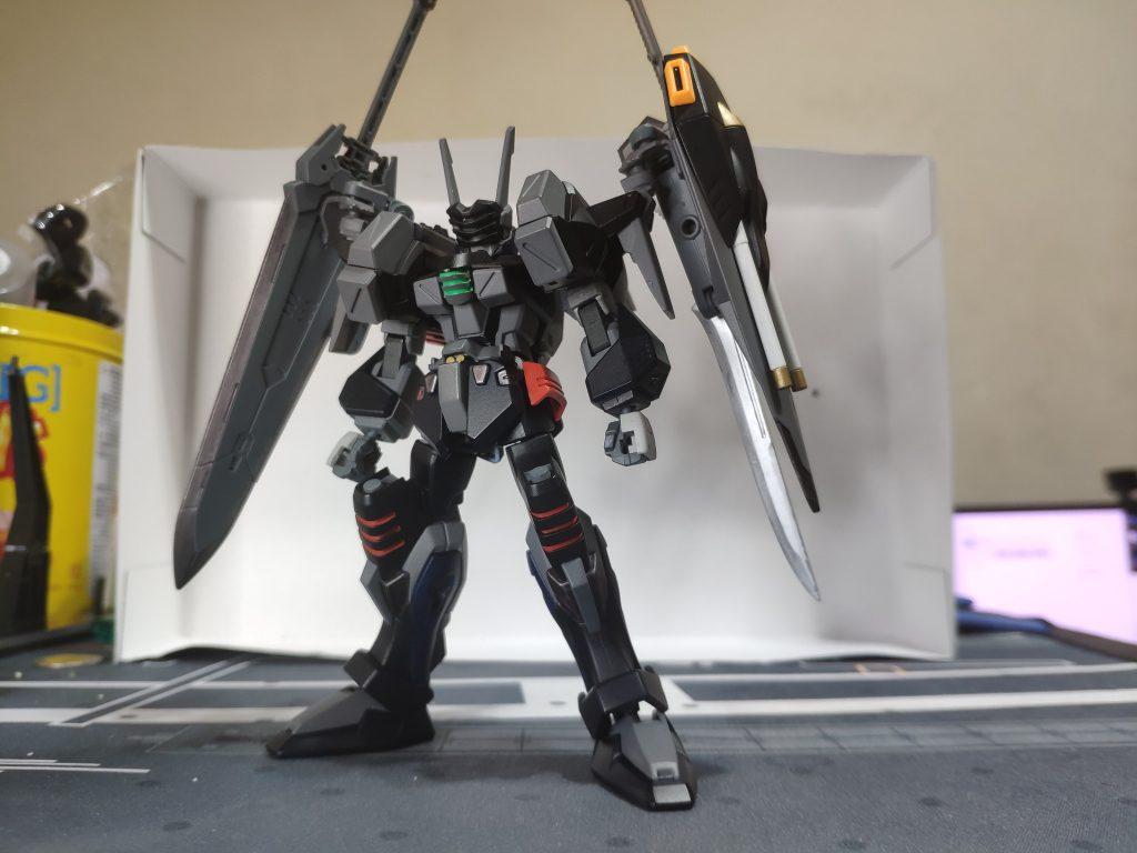 GAT-X103AS クレイモア バスターガンダム