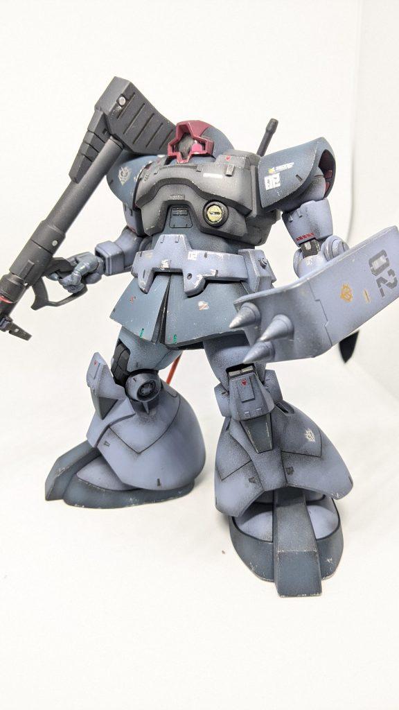 hgucドム 08MS小隊風カラー