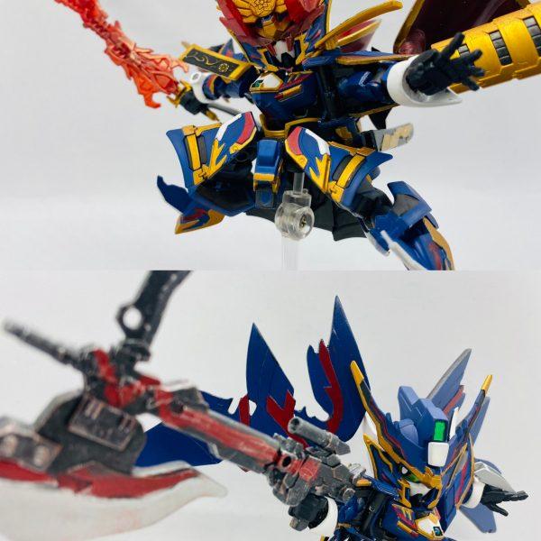 改造 ワールド ヒーローズ 信長ガンダムエピオン Ver.黑焰の魔王