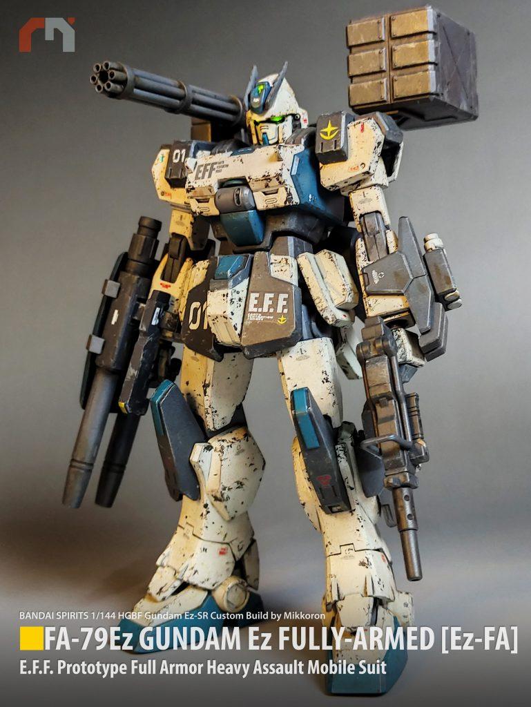 ガンダムEz-FA [Fully-Armed]