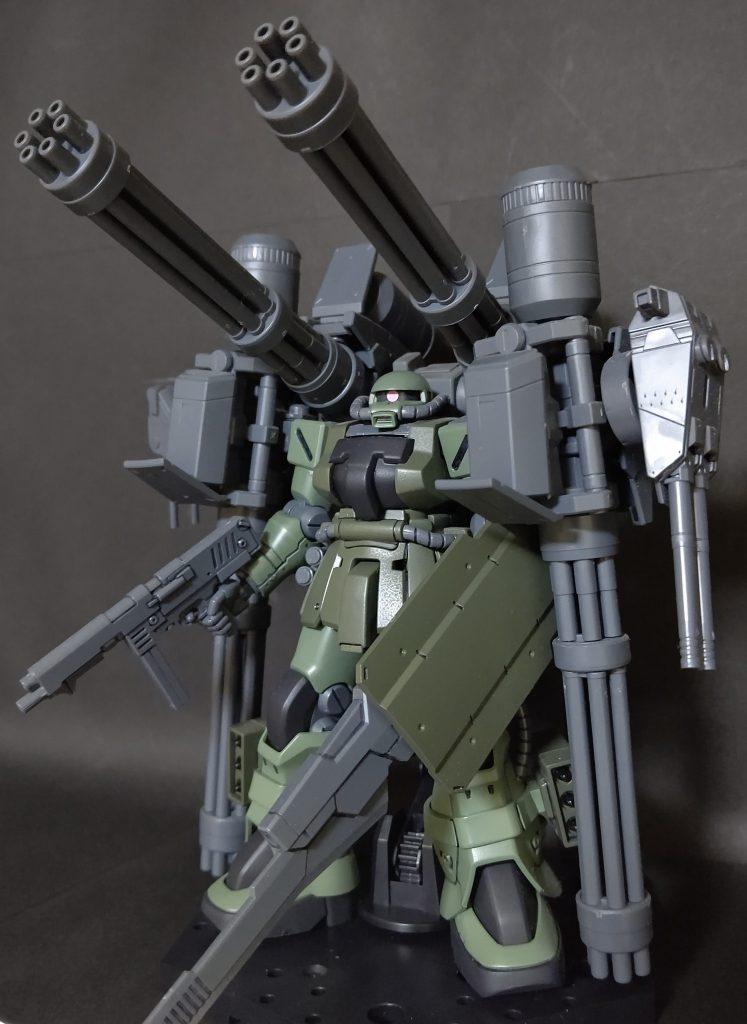 MS-06F-2G ザク・インパチェンス