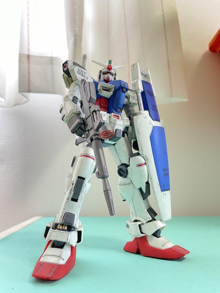 MG 1/100 RX-78GP01 ガンダム試作1号機