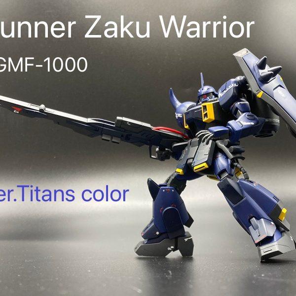ガナーザクウォーリア ver.Titans color