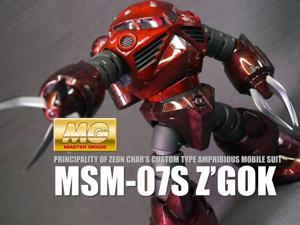 MG MSM-07S シャア専用ズゴック