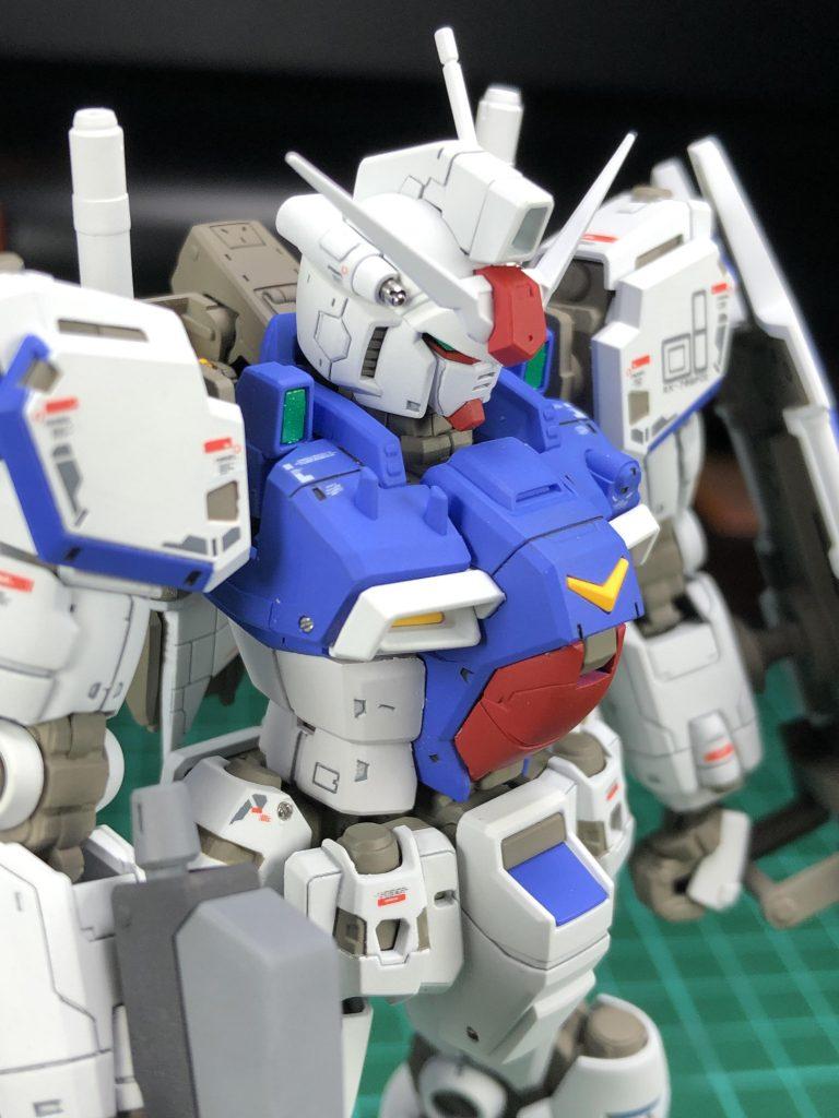 "RG GP01 ガンダム試作1号機 ""ゼフィランサス"""