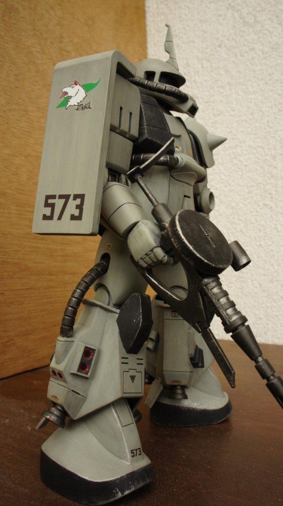 1/100 シンマツナガ専用高起動型ザクⅡ