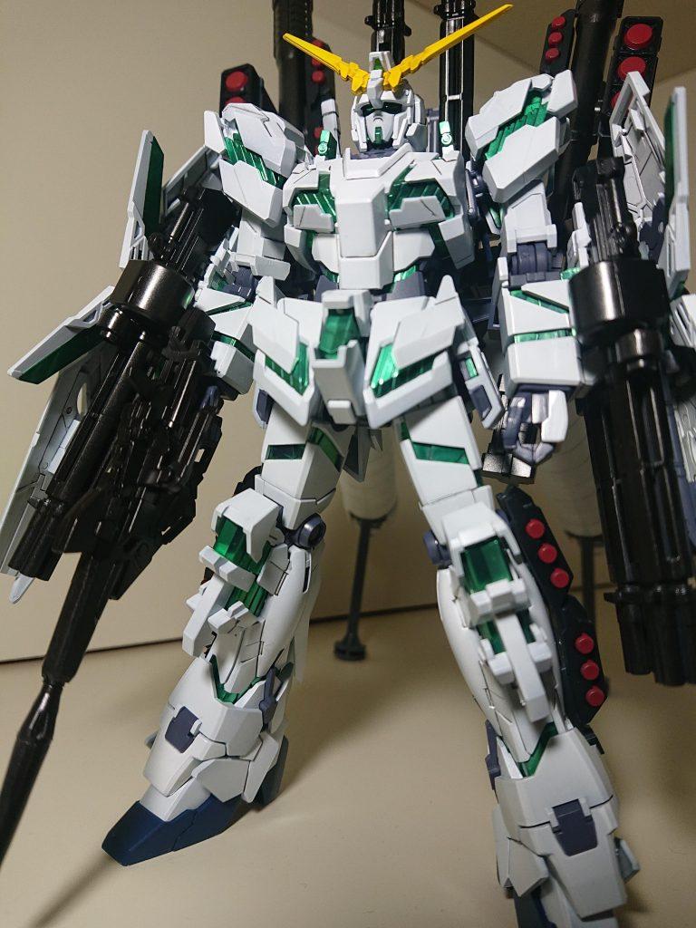 RX-0 UNICRN FA【重装備の輝き】