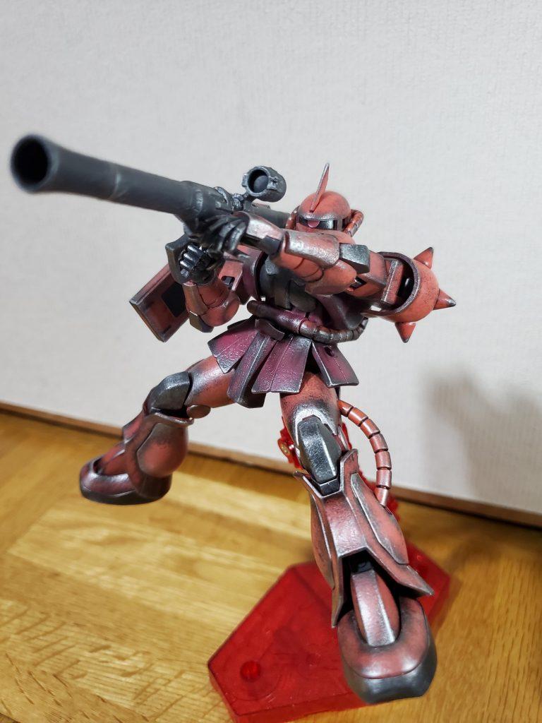 HG シャア専用ザクII(NT)