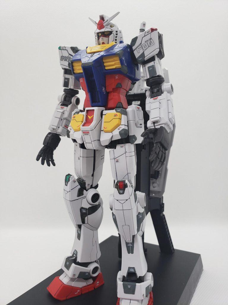 1/100 RX-78F00 ガンダム