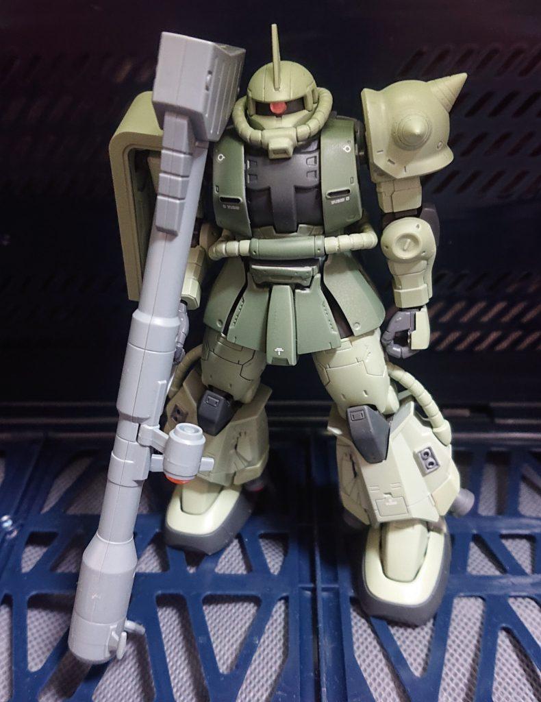 HG 高機動型ザクII(量産型カラー)