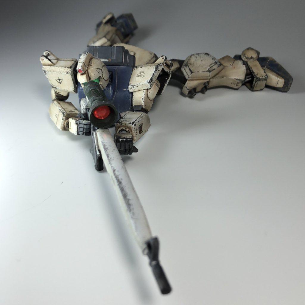 旧HG ジムスナイパー (MS08小隊)