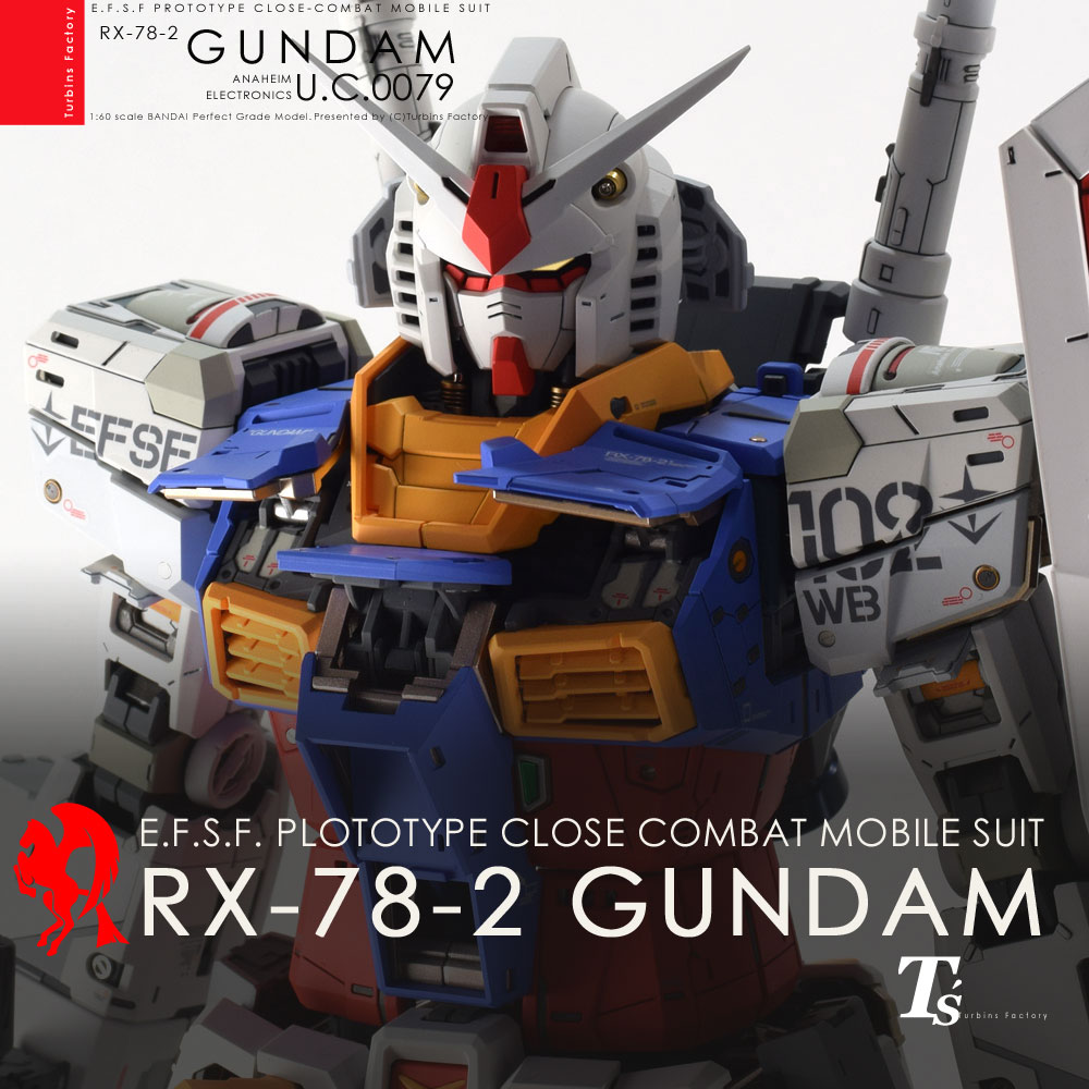 PG UNLEASHED 1/60 RX-78-2 GUNDAM