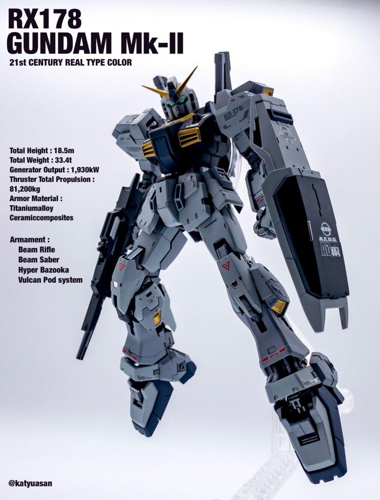 RG ガンダムMk-Ⅱ 21st Century color