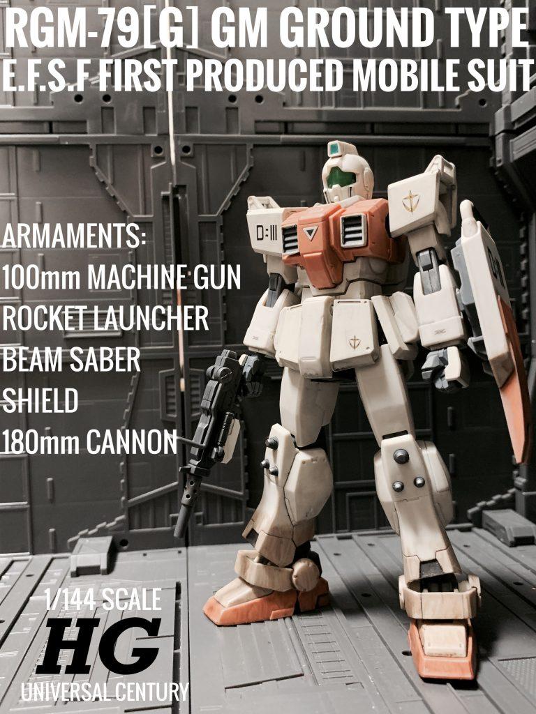 HG 陸戦型ジム(デルタチーム機)