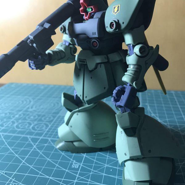 MS-09Ⅱ リックドムⅡライトグリーンカラー