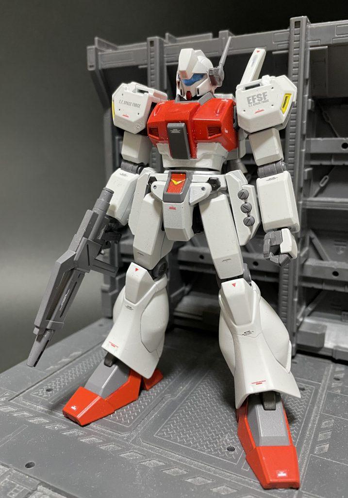 HGジェガンD型(先行配備カラー)