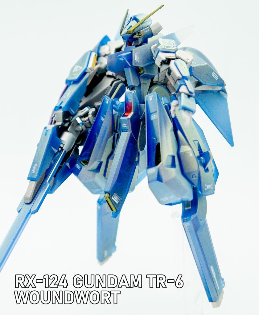 HGUC GUNDAM TR-6 WOUNDWORT-Lapis lazuli exterior