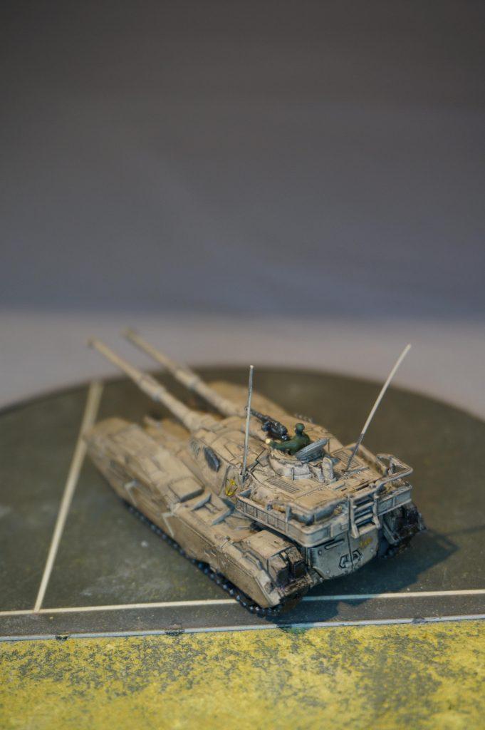 HGUC HARDGRAPH 1/144 61式戦車(TYPE61 M.B.T.)