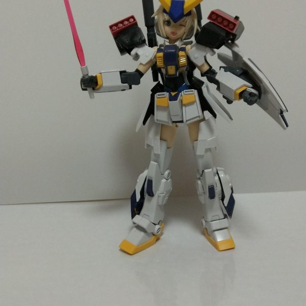 MS少女 ガンダム6号機 マドロックちゃん改