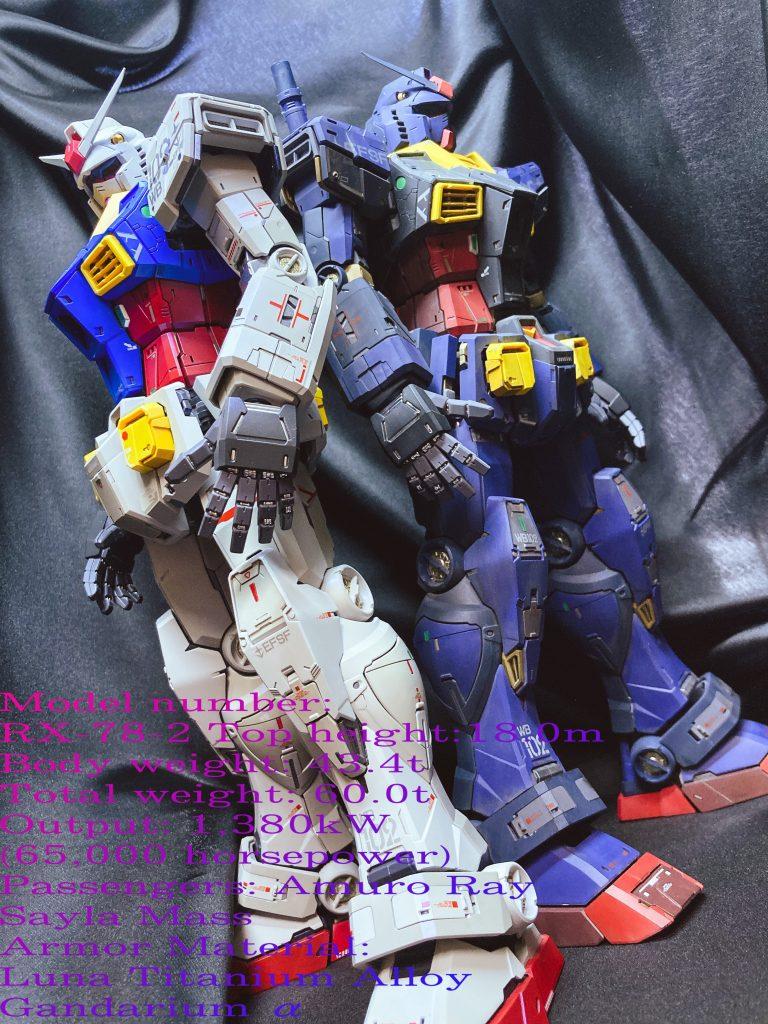 PGU Rx-78-2 ガンダム & ガンダム
