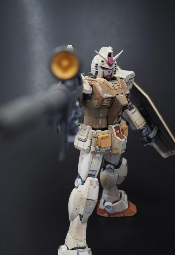 ガンダムver3.0 砂漠戦仕様
