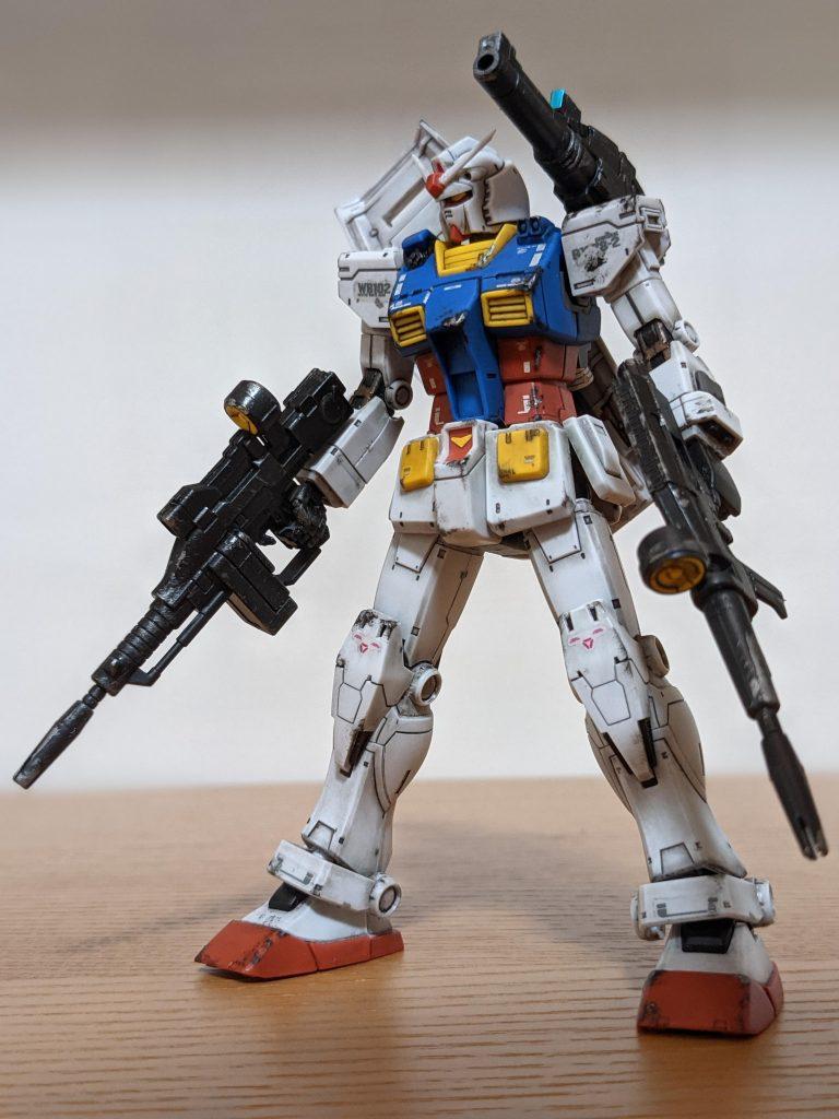 HG RX-78-02 ガンダム(THE ORIGIN)