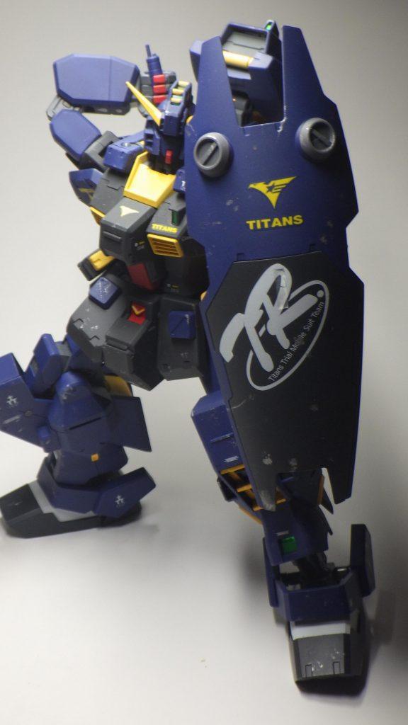 RX-121-2 ヘイズル改(ティターンズカラ-)