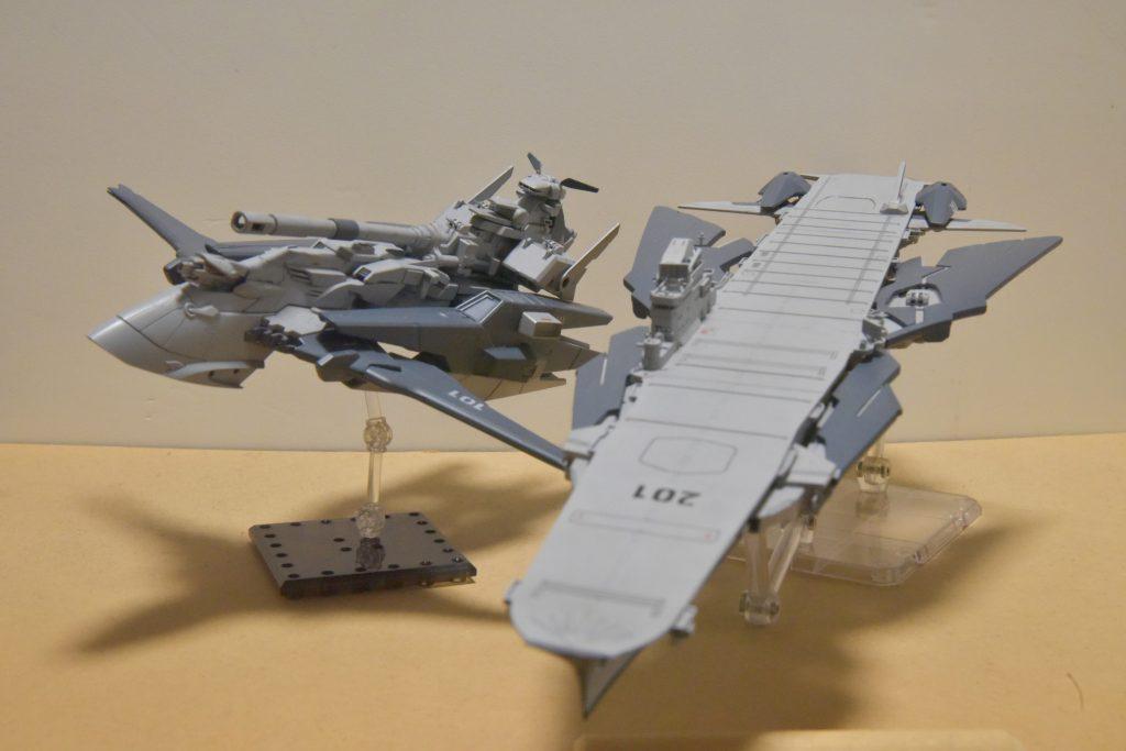 惑星高速特砲艦 アーラノス&超大型多用途空母 タイホウ