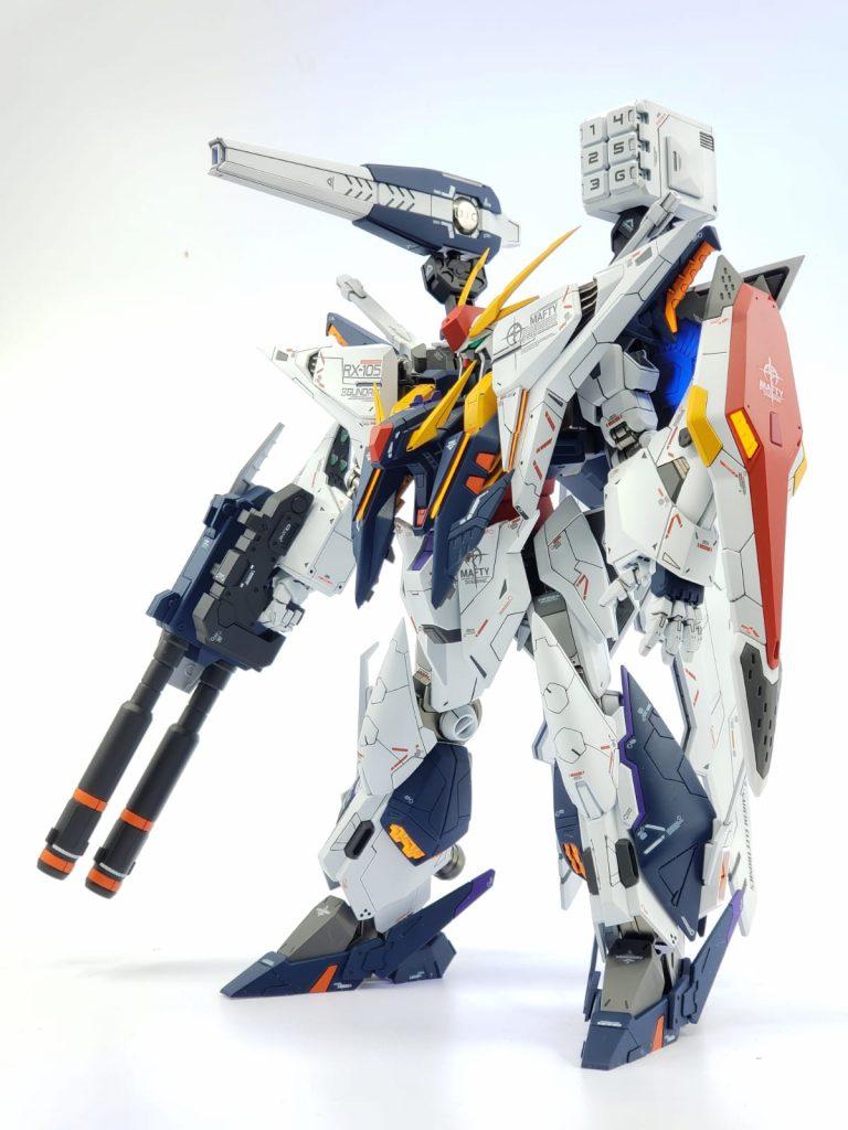 RX- 105 Xi Gundam 三高達