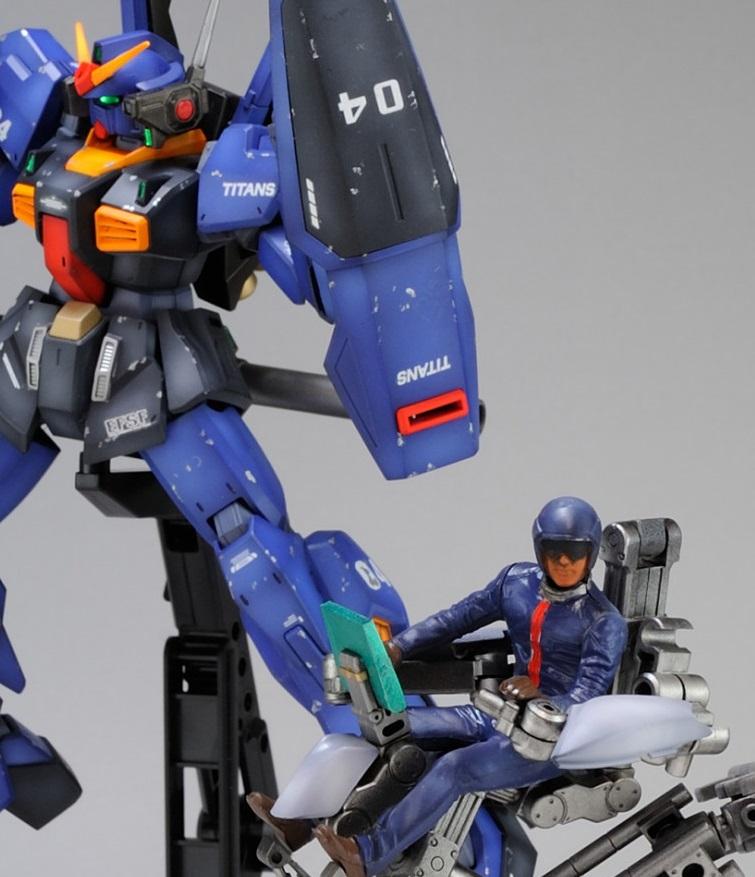 【HGUC】ガンダムMKⅡ 4号機