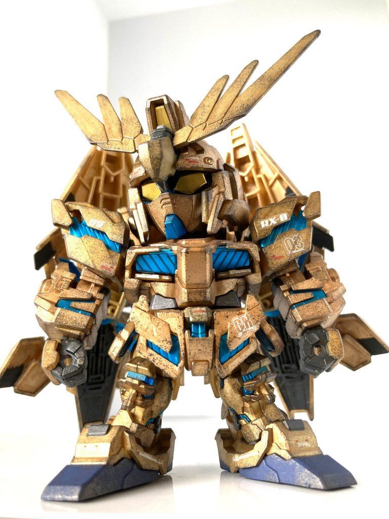 BB戦士ユニコーンガンダム3号機フェネクス