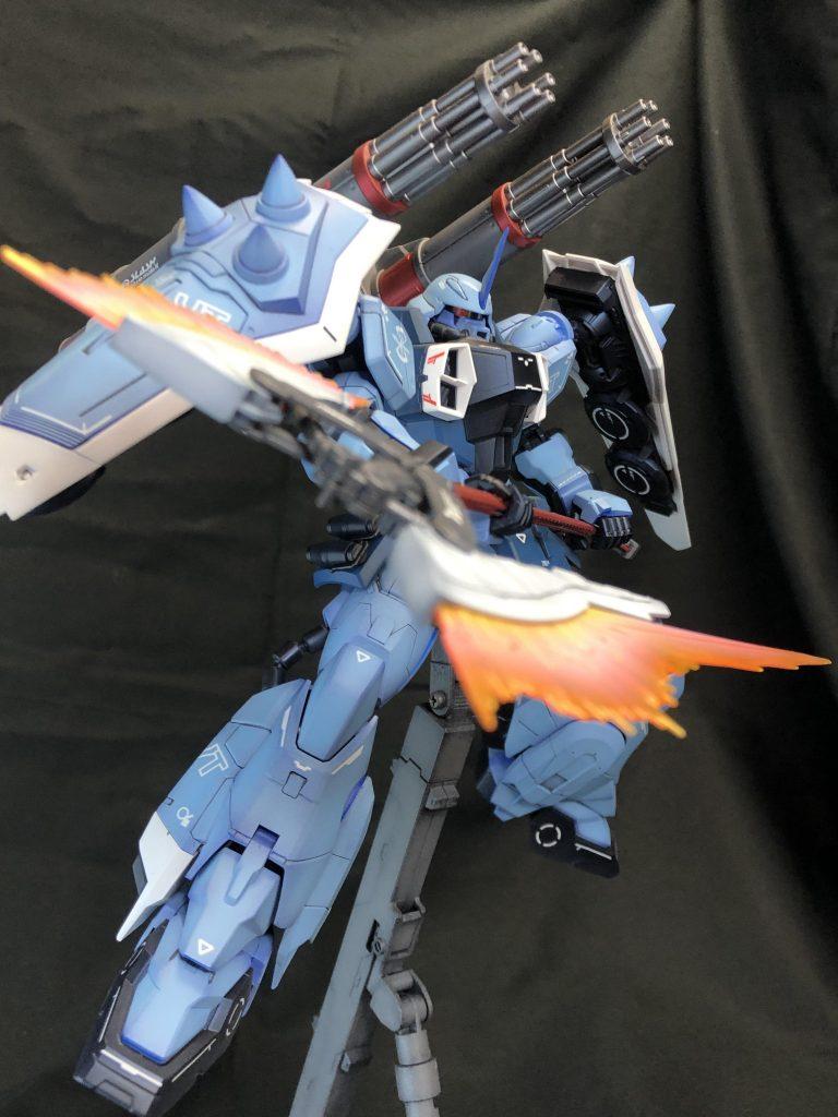 MG 1/100 Slash Zaku Phantom Yzak Jule Custom