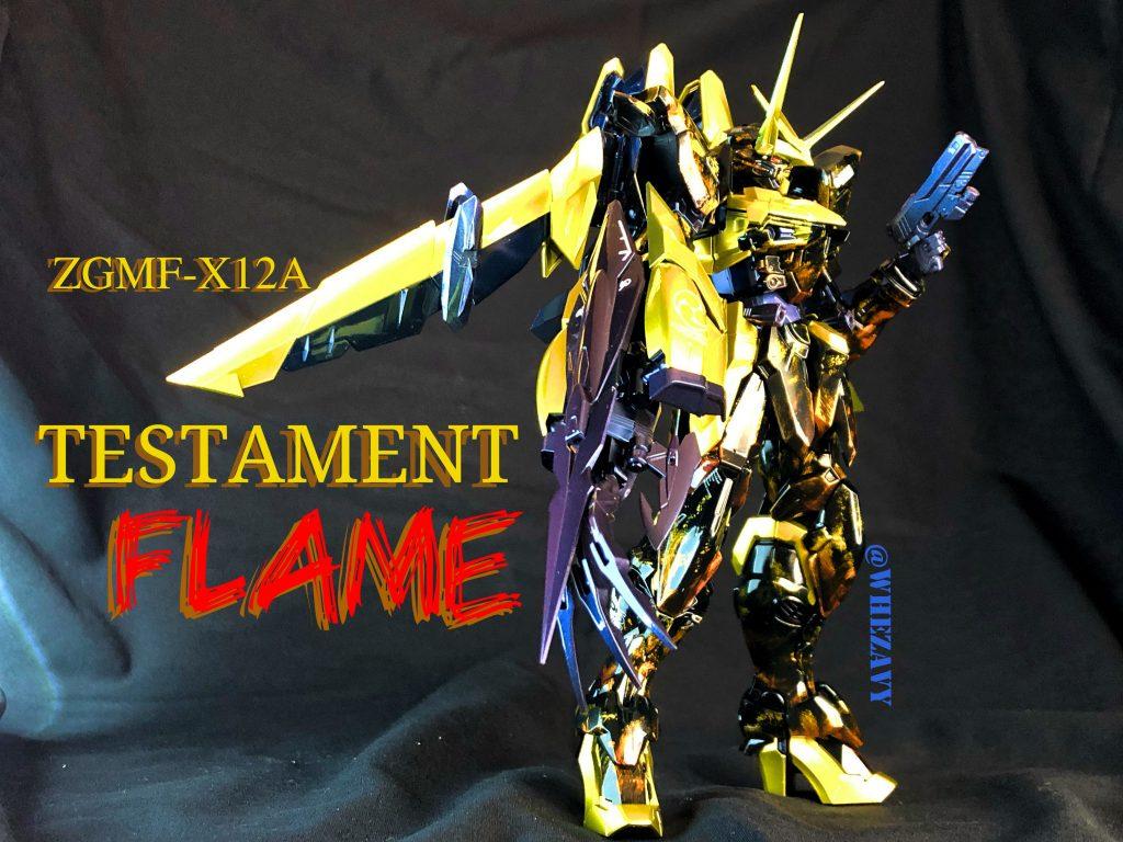 "MG 1/100  TESTAMENT""Flame"""