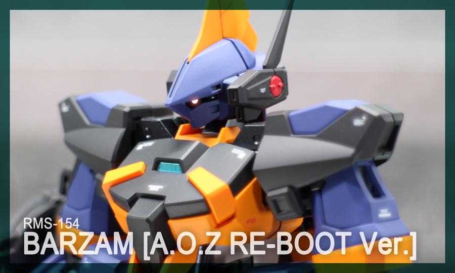 HGUC バーザム[A.O.Z RE-BOOT Ver.]