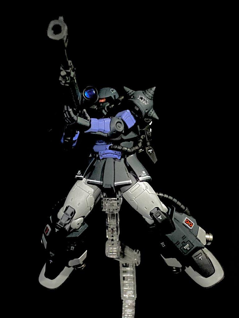 HG黒い三連星専用 高機動型ザク