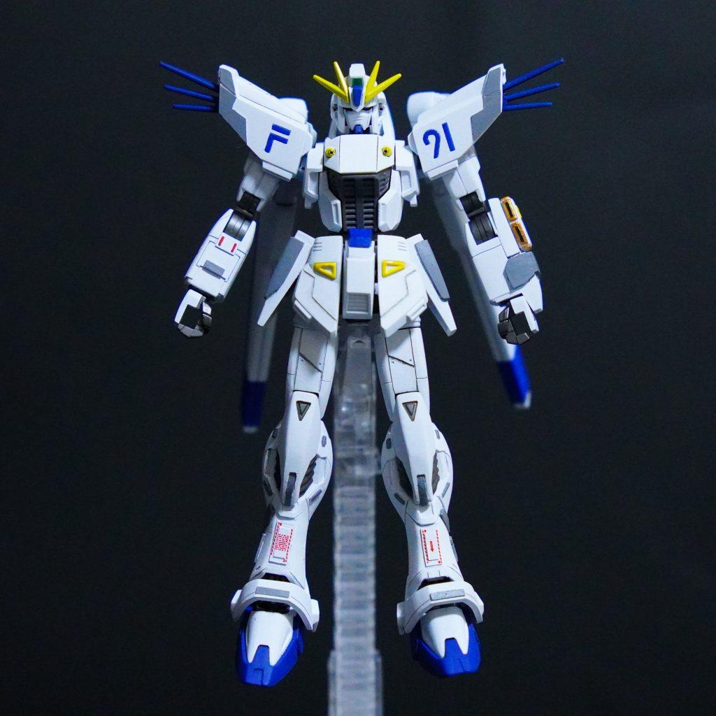 新たな幻の白いF91ガンダム•••?