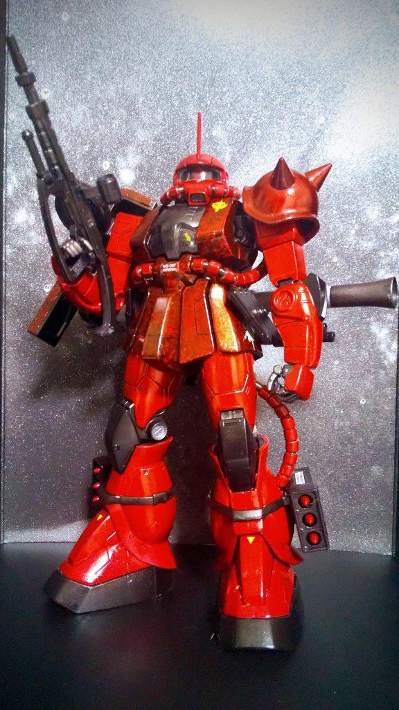 MG MS-06F/J ZAKUⅡ シャア専用カラー