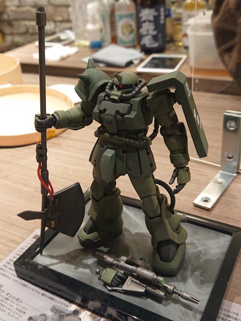 HGザクⅡF2