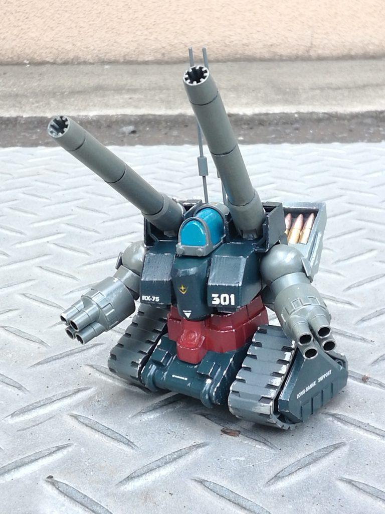 SD量産型ガンタンク