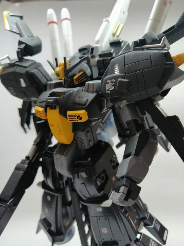 S-ガンダムブースターユニット装着型、完成(^^)