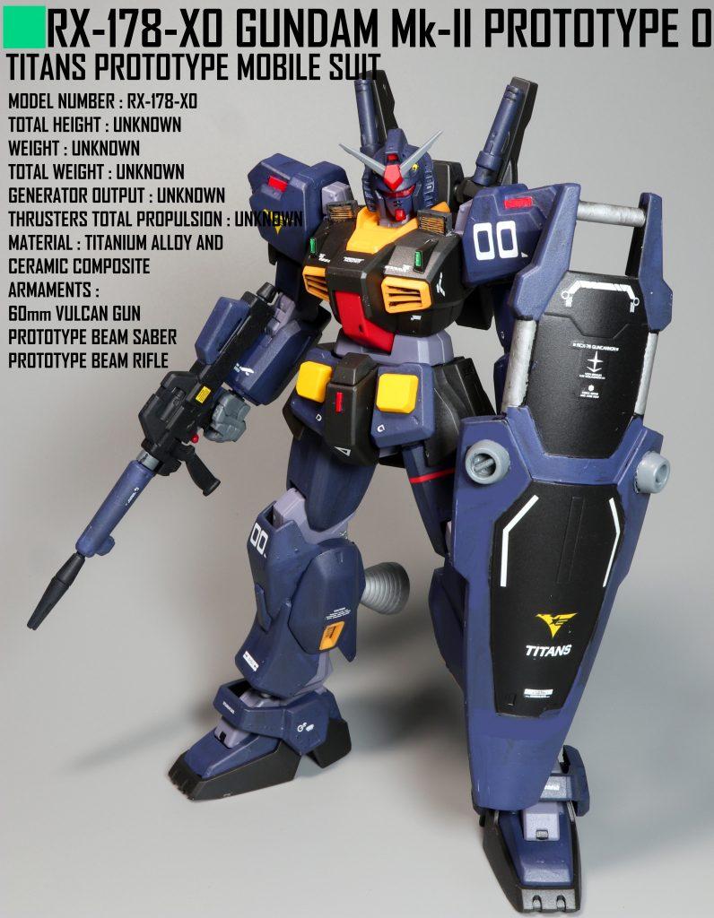 HG ガンダムMk-Ⅱ試作0号機
