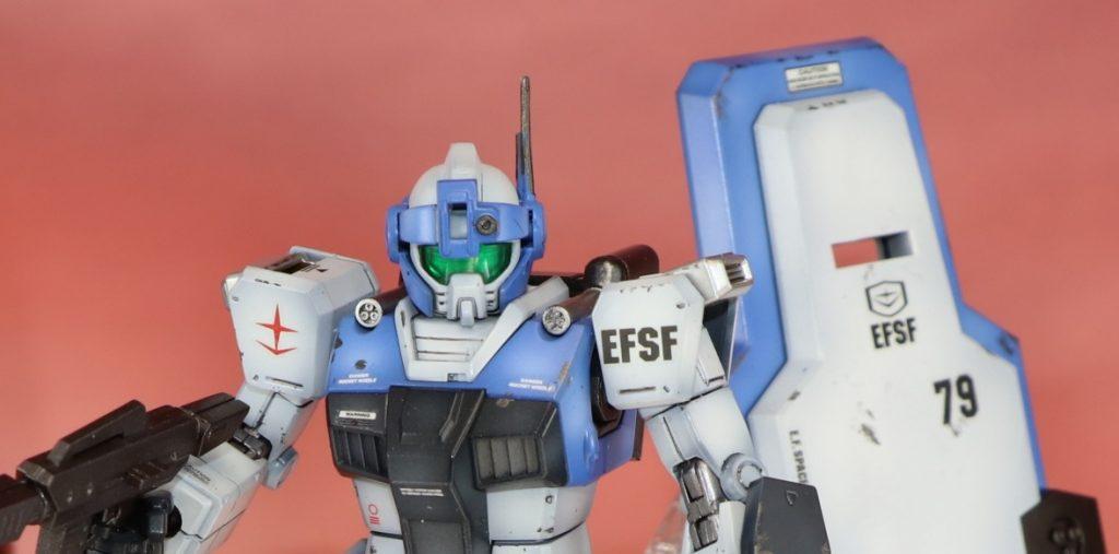 【HGORG】ジムガードカスタム ビームガン装備型